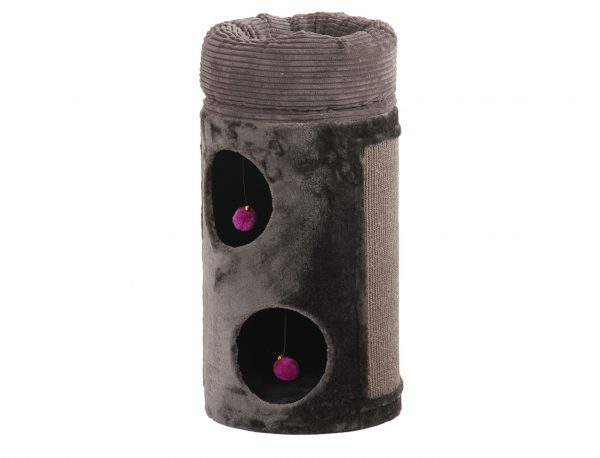 Kattenklim Poga grijs-antraciet 38x38x77cm