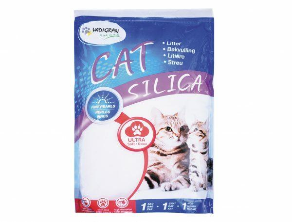Cat Litter Silica Fijne Parels 2kg 5L