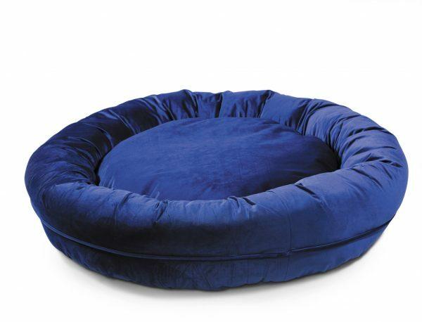Donut Velvetti donkerblauw Ø100x25cm