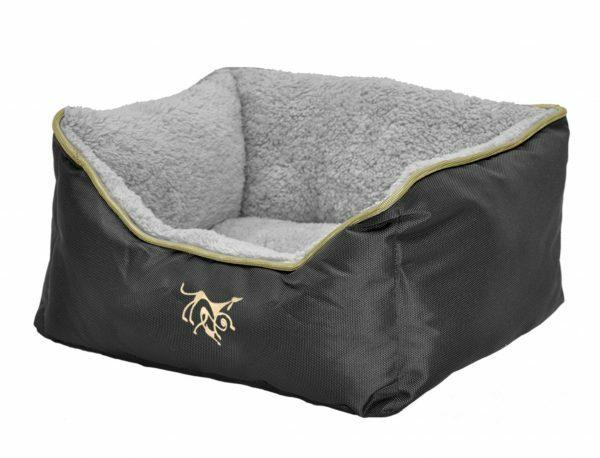 Hondenmand Black Oxford 110x80x25cm