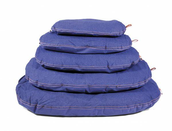 Kussen Bluedenim donkerblauw 57x37cm