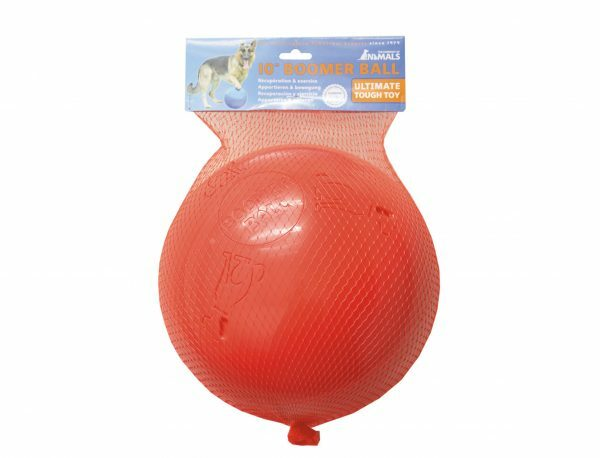 Speelgoed hond Boomer bal blauw Ø25cm