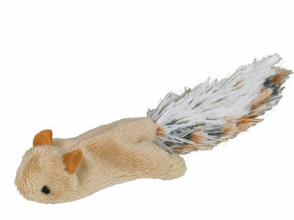 Speelgoed kat pluche vliegende eekhoorn 10,5cm