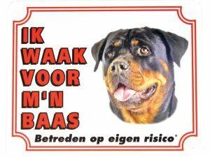 Waakbord S Rottweiler NL