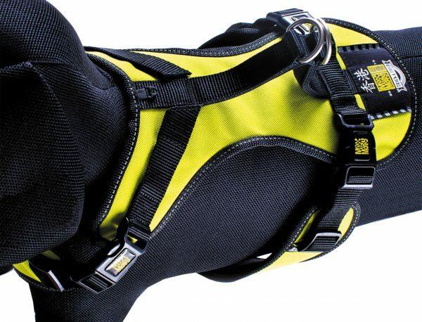 Harnas matrix Neo Yellow nek 48-57cm borst 64-75cm