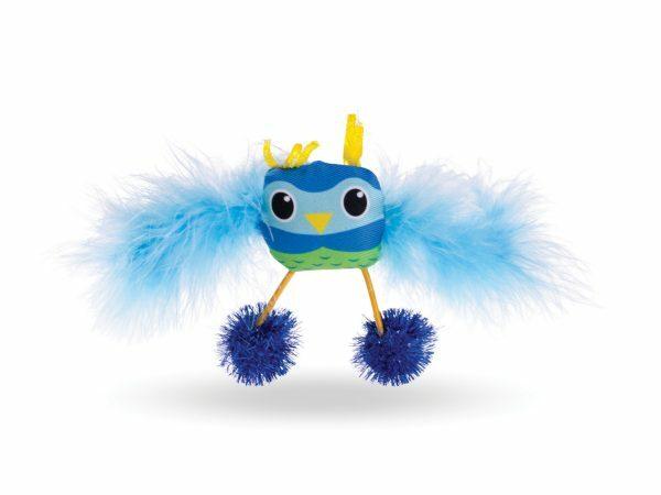 Speelgoed kat uiltje Wingy 15cm