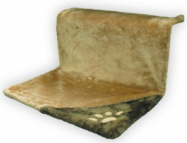Hangmat beige/bruin 46x29x23 cm
