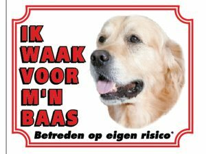 Waakbord S Golden Retriever NL