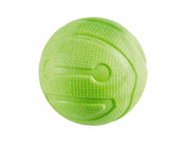 Speelgoed hond TPR bal Green Apple 6,4cm