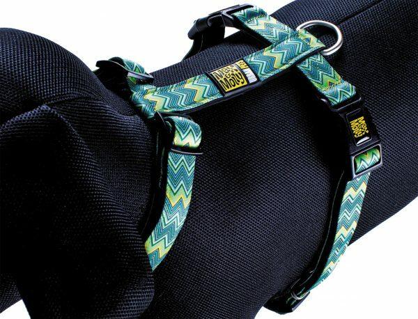 Harnas XS Vintage nek 24-39cm borst 32-40cm