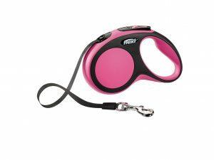 Flexi Comfort roze S (riem 5 m)