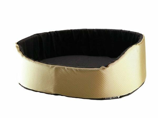 Hondenmand All Seasons goud 70x50x22cm