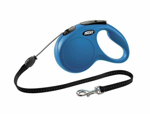 Flexi Classic blauw M (koord 5m)