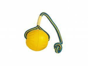 Starmark Swing n Fling Fetch Ball 8x6x28cm M