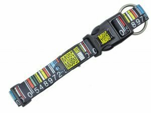 Halsband Barcode M 20mmx34-55cm