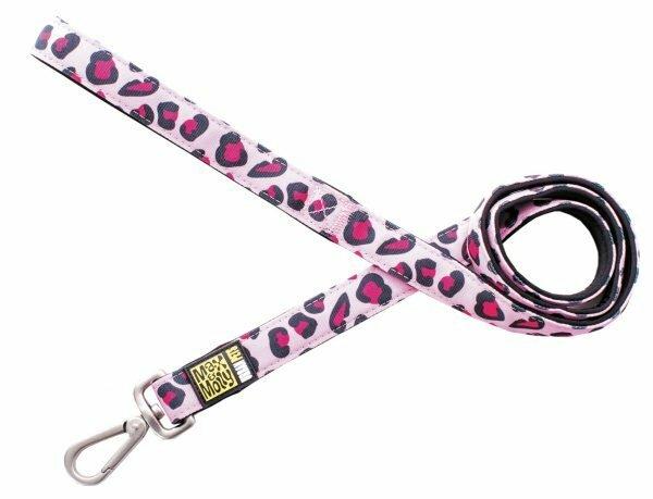Leiband Leopard Pink M 20mmx120cm