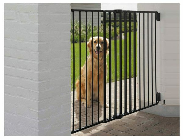 Dog Barrier Gate Outdoor H 95 cm