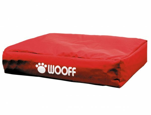 Matras Wooff rood 110x70x15cm