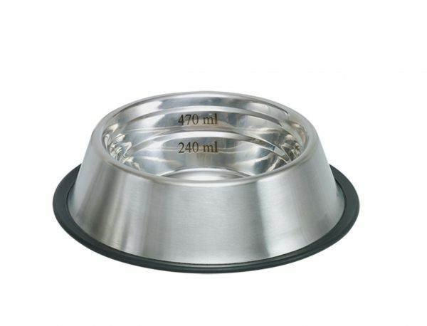 Eetbak inox antislip Capacity 15cm 0,47L