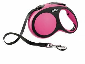 Flexi Comfort roze L (riem 5 m)