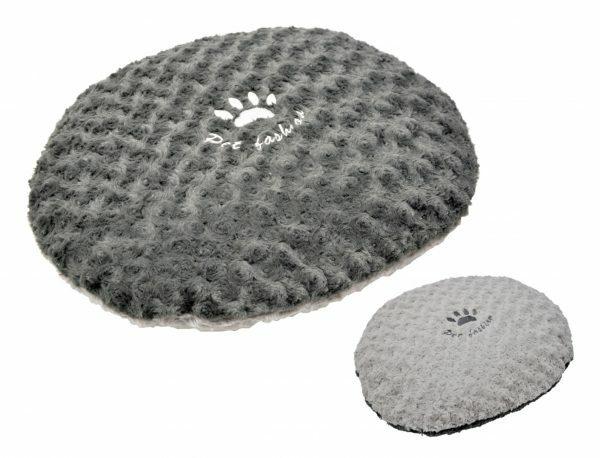 Kussen fleece Modern grijs 50x40cm