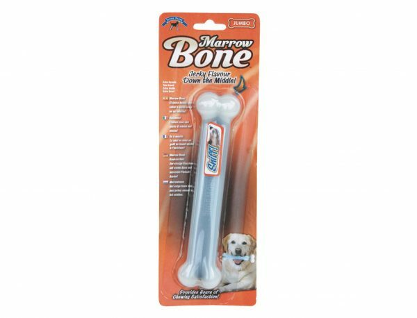 Speelgoed hond Marrow been wit Ø3,5x23,5cm XXL