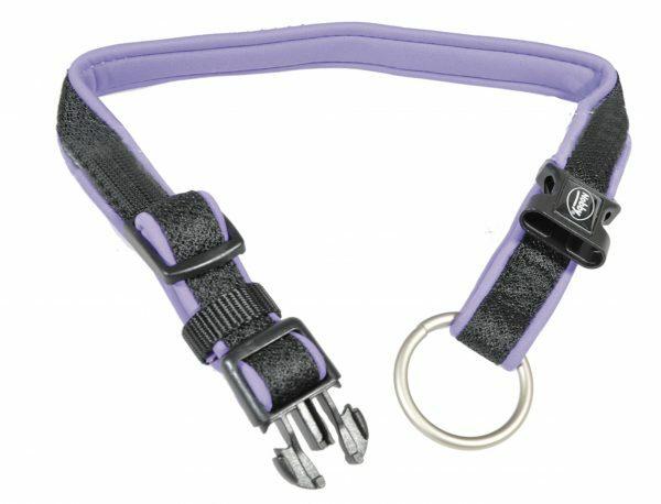Halsband nylon Mesh Preno paars 15/20mmx20-30cm