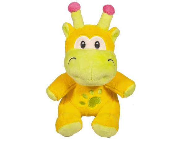 Speelgoed hond pluche giraf Limona 16cm
