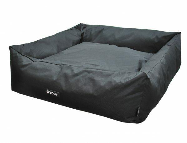 Hondenmand Wooff Cocoon zwart 115x100cm