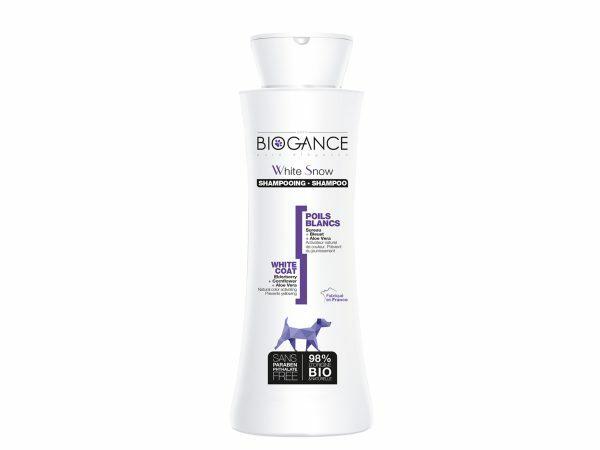 BIOGANCE hond witte vacht shampoo 250ml