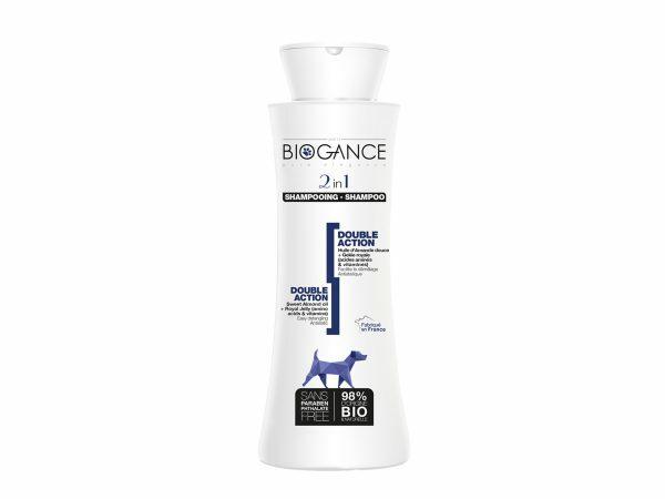 BIOGANCE hond shampoo dubbele werking 250ml