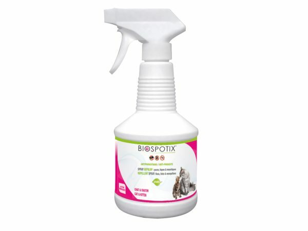 BIOSPOTIX kat antipar. spray 500ml BE-REG-00318
