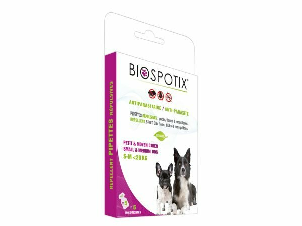 BIOSPOTIX hond spot-on antiparasitair S-M <20kg