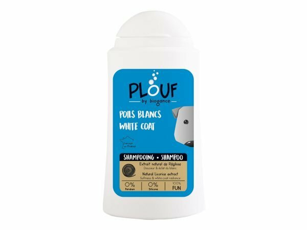 PLOUF hond witte vacht shampoo 200ml