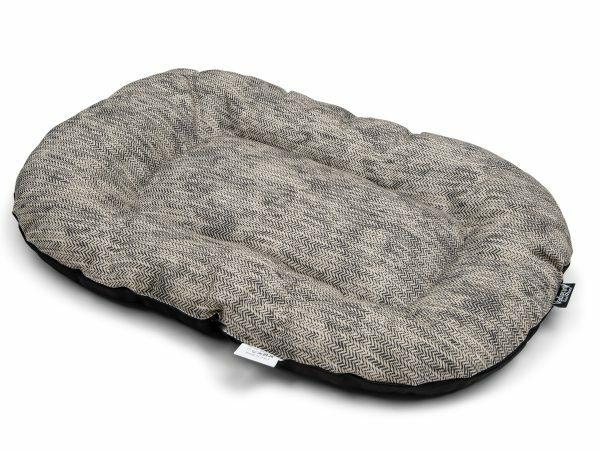 Kussen Winter grijs 60x45cm
