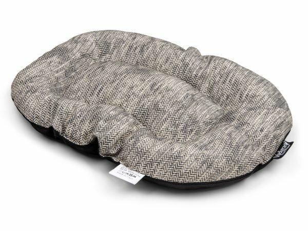 Kussen Winter grijs 45x30cm