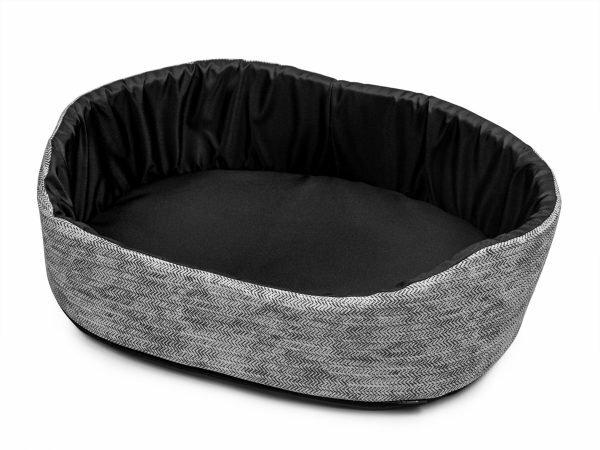 Hondenmand Winter grijs 50x35cm