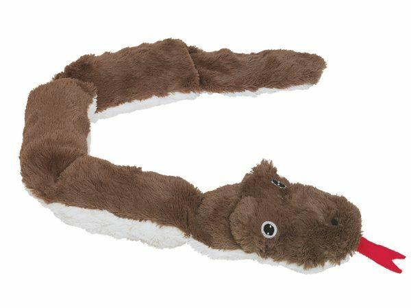 Speelgoed hond pluche Sully de slang bruin 85cm