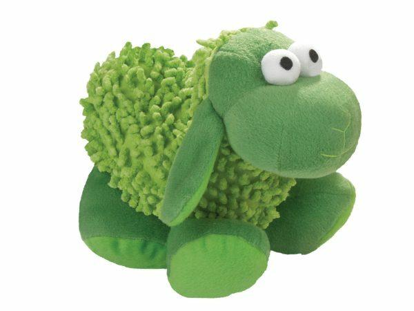 Speelgoed hond pluche Mopy schaap groen 22cm