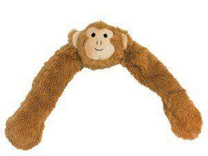 Speelgoed hond pluche Aaron de aap 55,5cm