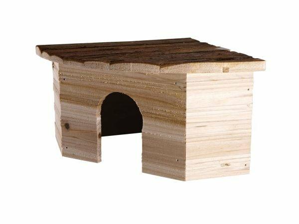 Knaagdierhuis hout Leli 30x21x13cm