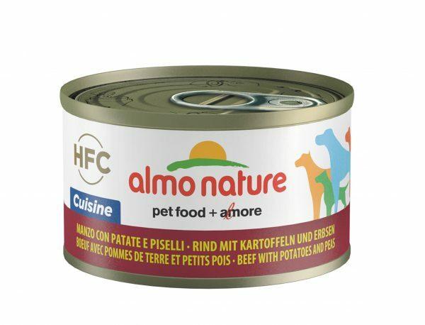HFC Dogs 95g Cuisine - rundsvlees en groentjes