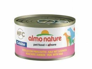 HFC Dogs 95g Natural - kalfsvlees met ham