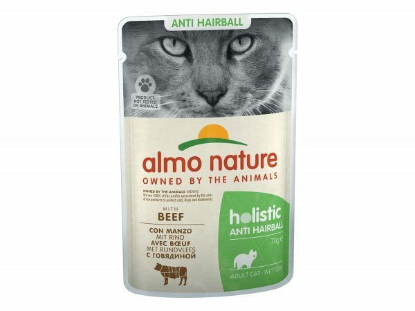 HOL Cats 70g Anti-Hairball met rundvlees