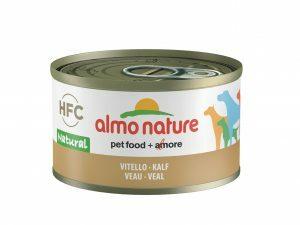 HFC Dogs 95g Natural - kalfsvlees