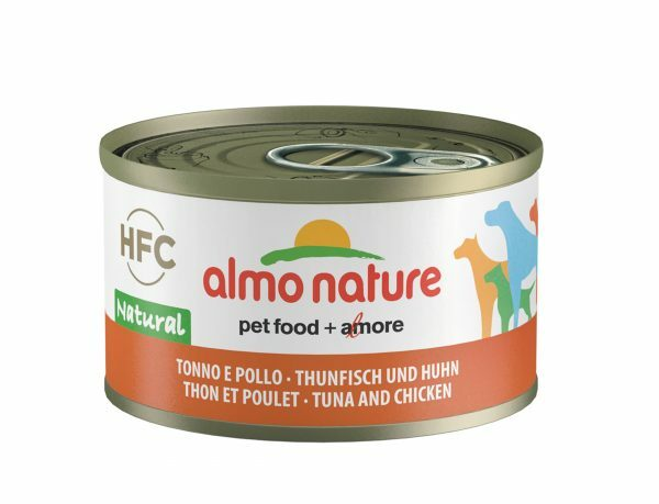 HFC Dogs 95g Natural - tonijn en kip