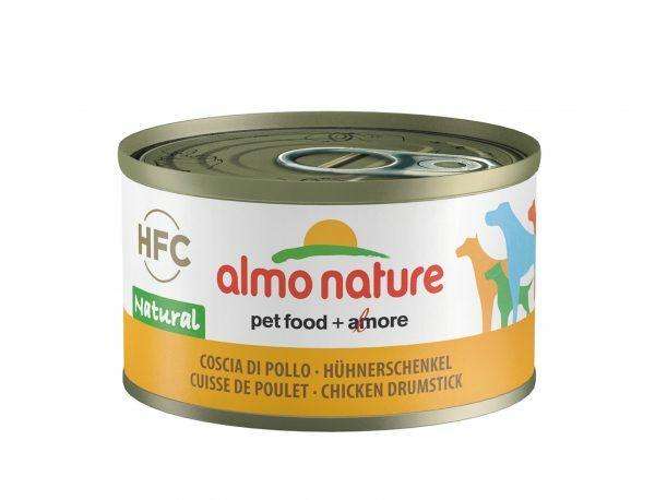 HFC Dogs 95g Natural - kippenboutvlees