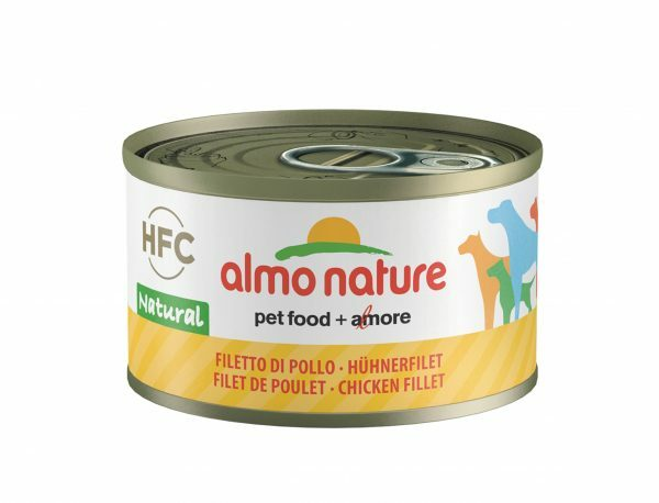 HFC Dogs 95g Natural - kipfilet