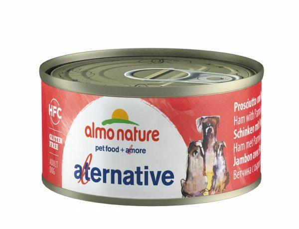 HFC Dogs 70g Alternative- ham met parmezaan