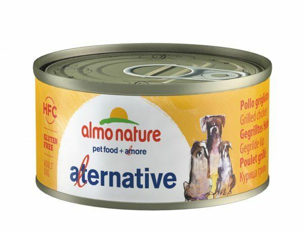HFC Dogs 70g Alternative- gegrilde kip